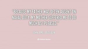quotes about fathers absent father