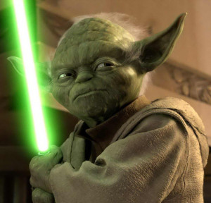 ... the wisest man in the universe is of course master yoda but can this