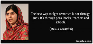 More Malala Yousafzai Quotes