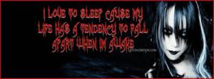 ... bleeding sad running mascara crying black butterfly emo girl2 Sad Emo