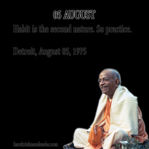 Srila Prabhupada Quotes For Month August05