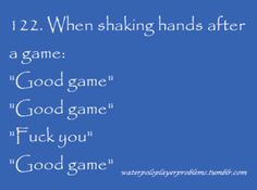 Water Polo Quotes Water Polo Problems Google