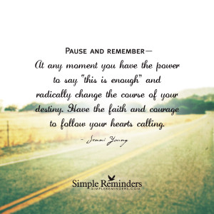 courage to follow your heart by jenni young courage to follow your ...