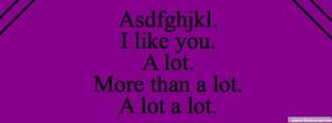 Like You A Lot A Lot