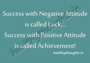 thought for the day-motivational quotes-Success with negative attitude ...