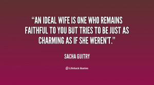 Faithful Wife Quotes