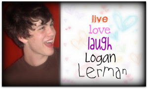 Logan Lerman Quote Series!