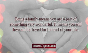Quotes About Family Love And Support ~ Family Love And Support Quotes