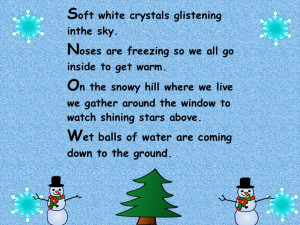 Snow Poems