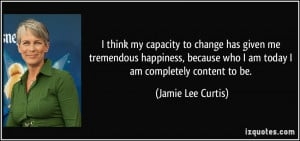 More Jamie Lee Curtis Quotes