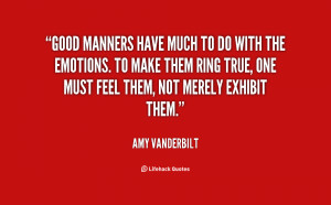 Go Back > Gallery For > Good Manners Quotes