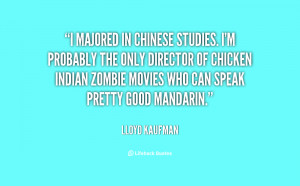 Quotes by Lloyd Kaufman