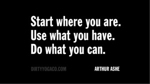 Arthur Ashe - DY141 #quotes