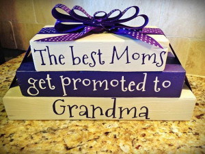Stack Wood Blocks Words Custom Quote Grandma Boss Teacher Christmas ...