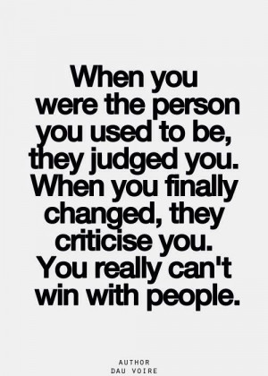 You can't win with the wrong people, so forget them.