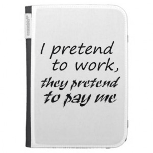 Funny quotes kindle cases office humor joke gifts
