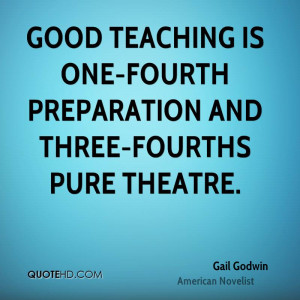 Gail Godwin Education Quotes
