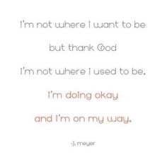 Joyce Meyer quote. More