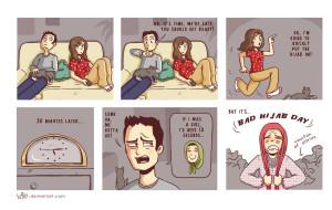 Bad Hijab Day by tuffix