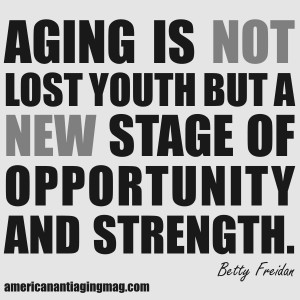 Aging Is Not Lost Youth