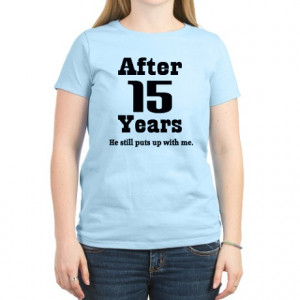 15 year anniversary gifts 15 year anniversary tops 15th anniversary ...
