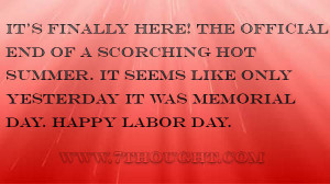 Labor Day Messages 2014, Sayings