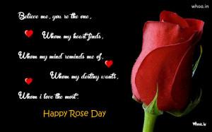 Black Rose Quotes
