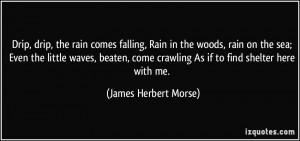 James Herbert Morse Quote