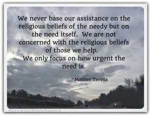 Mother Teresa Quote - Service to Others