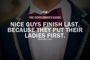 why nice guys finish last