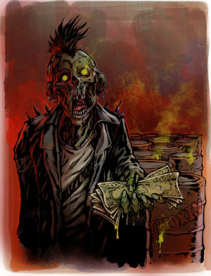 Zombie Love Quotes His love for schlock-horror
