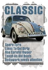 Mens T-Shirt, Classic VW Beetle Funny Quote Ideal Birthday Gift ...
