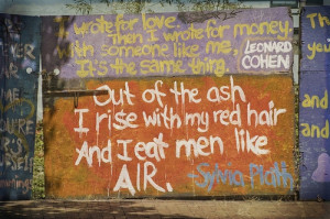 My favorite Sylvia Plath quote.heartmatter:(via infinitebutterflies ...