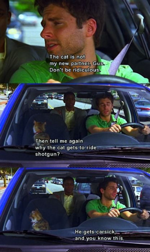 ... love psych it is my favorite show.. shawn and gus are so hilarious