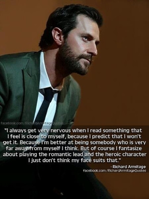 ... , Sydney, Australia Graphic from Richard Armitage quotes on Facebook