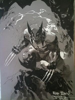 Jim Lee Wolverine Unmasked...