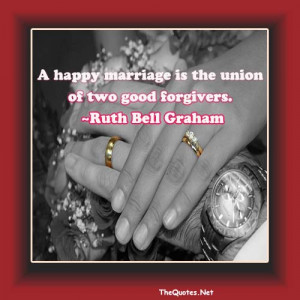 Quotes About Happy Marriage
