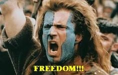 William Wallace Quotes Freedom | Inspirational 'Braveheart' Movie ...