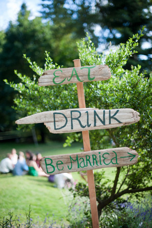 Wedding Phrases: Eat, Drink, Be Married