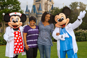 Chandra Wilson & Audra McDonald join Dr. Mickey Mouse and Nurse Minnie ...