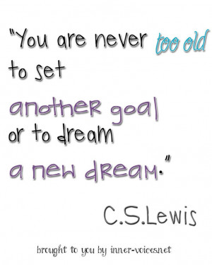 Lewis' quote