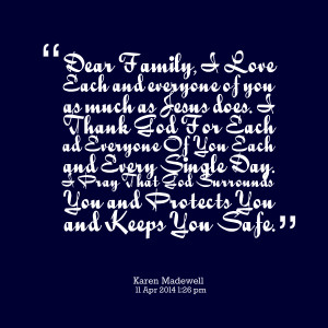 Quotes Picture: family all because adam and eve fell in love and ...