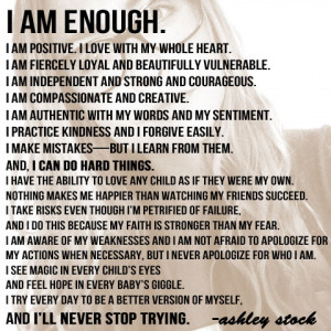 Am Enough