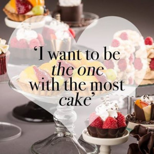 We want to be the one with the BEST cake!