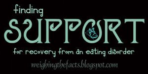 Finding Support For Recovery From An Eating Disorder