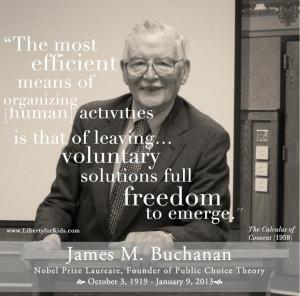 James M. Buchanan, The Calculus of Consent