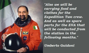 Umberto guidoni famous quotes 1