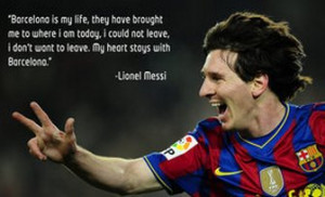 Famous Soccer Quotes by Messi