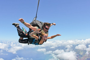 Fear at Fourteen Thousand Feet: Skydiving in Hawaii