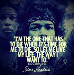Jimi Hendrix on Life